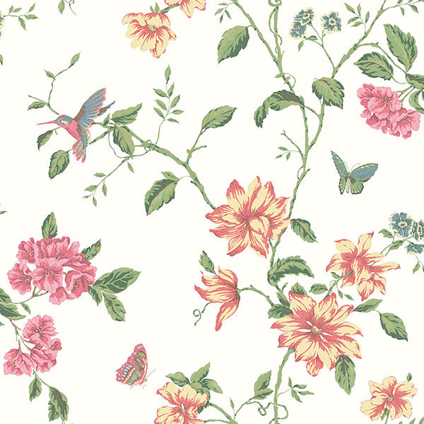 english florals wallpaper collection